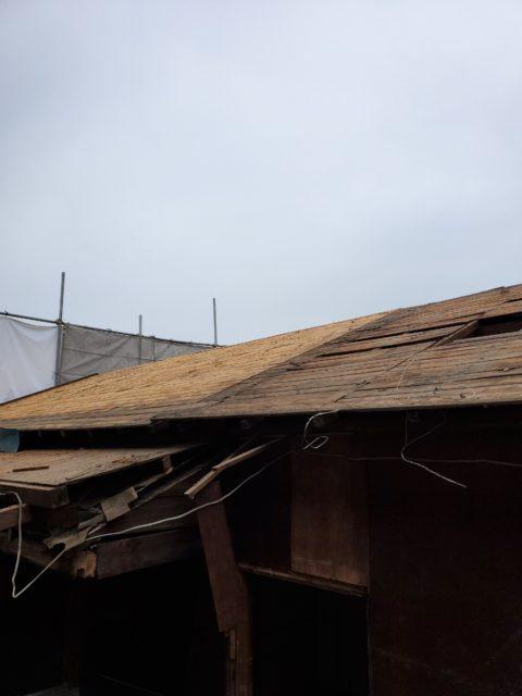 木造平屋の解体